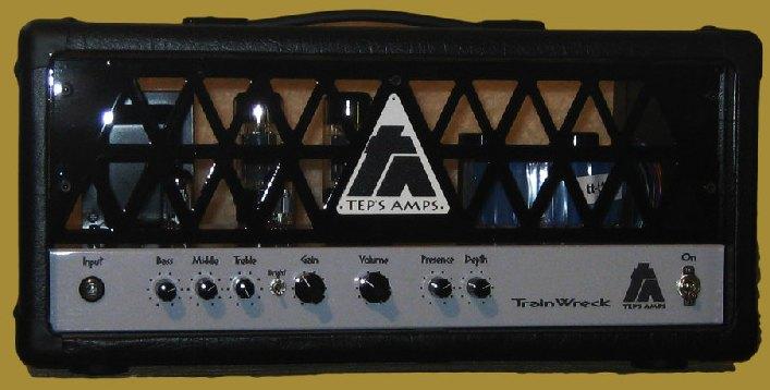 Ampli Ken Fisher de Tep's Amps le TrainWreck