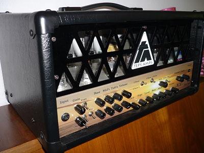Ampli à lampes XL 3 canaux 30 watts Cathode Bias de Tep's Amps